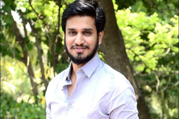 Minor Injuries to Nikhil on Sets!