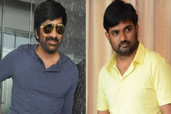 Maruthi trying hard to convince Ravi Teja