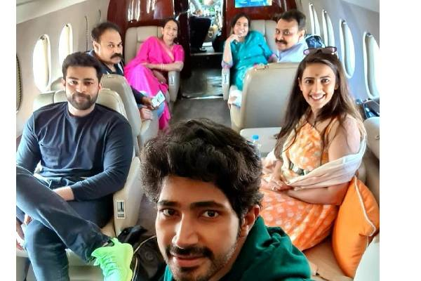 Pic Talk: Niharika and family fly to Udaipur