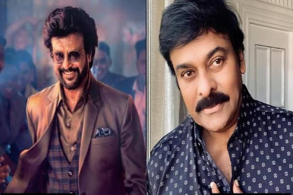 Megastar's special wishes for Rajinikanth