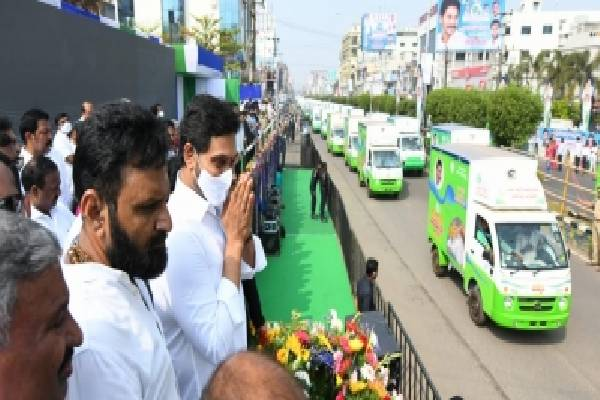 Jagan ration door delivery to face court cases