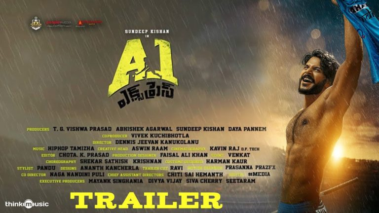 Sundeep Kishan's A1 Express Trailer: Emotional sports drama