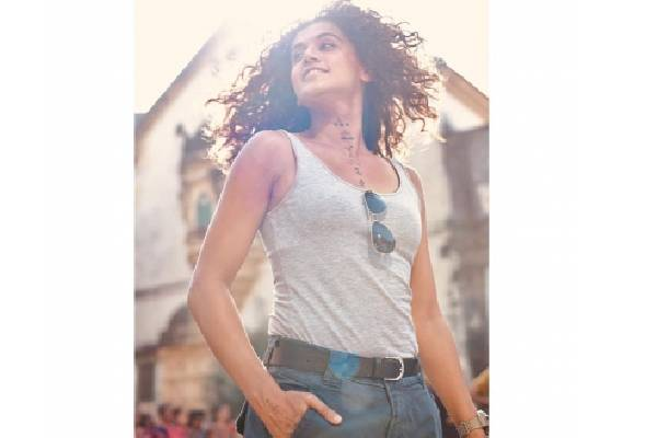 Taapsee Pannu: Pressure brings out the best in me