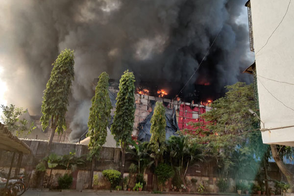 Fire on set of 'Adipurush' on first day of shoot