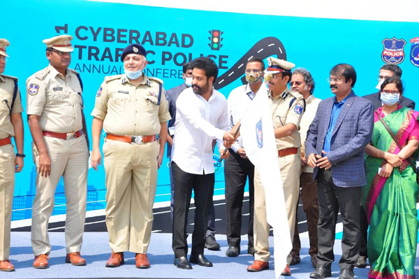 Following traffic rules is the need of the hour says NTR
