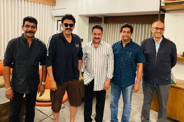 Venky signs Drishyam 2 Remake