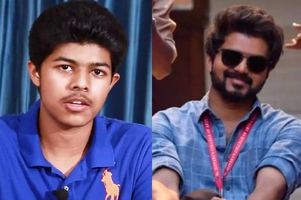 Tamil star Vijay's son to debut with Uppena remake??
