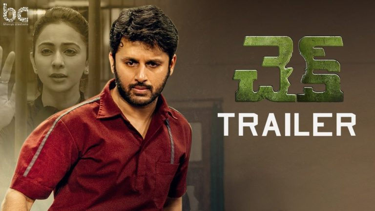 Check Trailer: Nithiin's Action Thriller on Cards