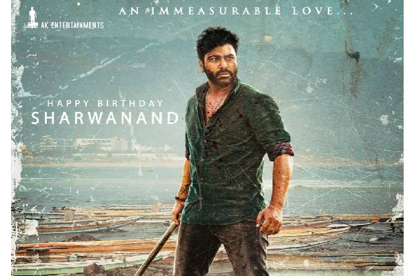 Sharwanand looks terrific in the first look of Maha Samudram
