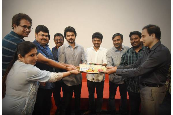 Vijay's 65th film Launched