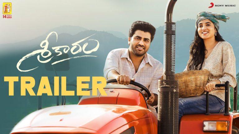 Sreekaram Trailer: A Thoughtful take on Farmers