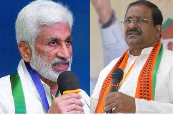 Vijay Sai-Veerraju tweet war on 'future CM Pawan'