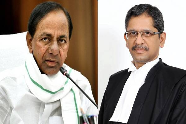 KCR meets Justice NV Ramana, what about Jagan?