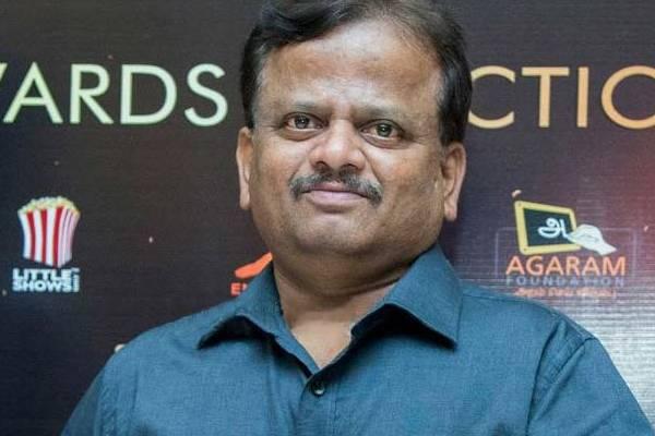 Legendary filmmaker KV Anand is no more