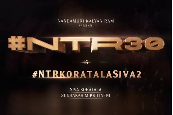 NTR's 30th Film Announced Officially