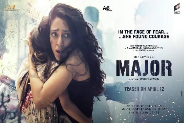 Major 1st Look: Sobhita Dhulipala Terrified