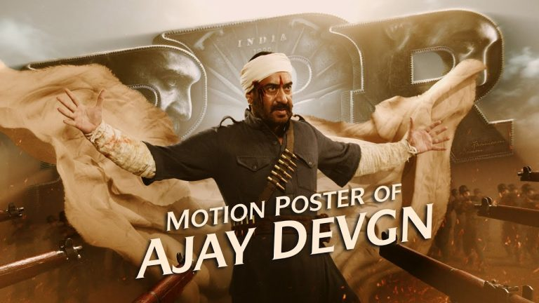 RRR Motion Poster: Ajay Devgn in a Never Before Role!
