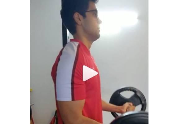 Adivi Sesh gives major fitness goals