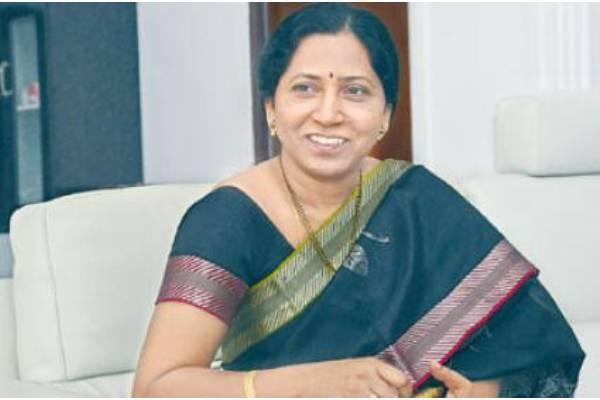 BJP's Huzurabad candidate Eatala Jamuna richer than her husband
