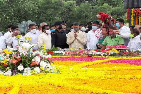 Tributes paid to NTR on 98th birth anniversary
