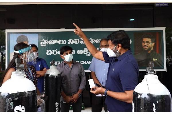 Chiranjeevi's Oxygen Banks Mission