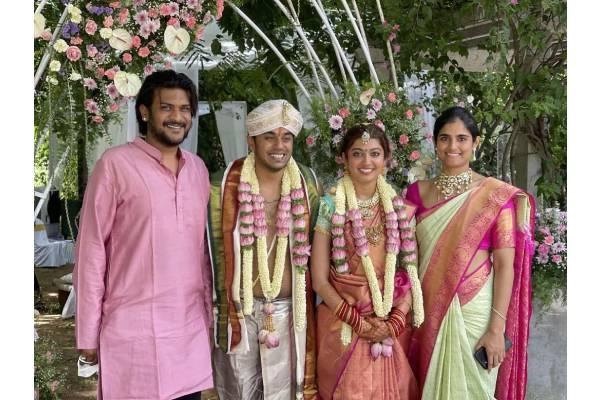 Actress Pranitha Subhash ties the knot