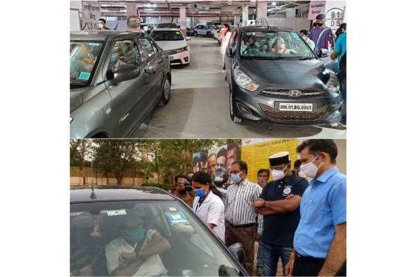 Namrata Shirodkar lauds drive-in vaccination centres in Mumbai, Bhopal