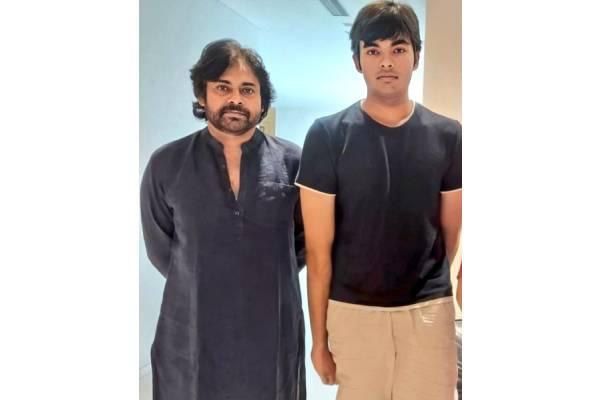 Viral Click: Pawan Kalyan with his son Akira Nandan