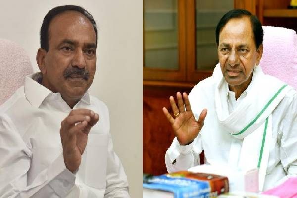 Etela testing patience of KCR by delaying resignation!