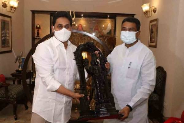 Andhra CM requests Centre to stop Vizag steel plant sale