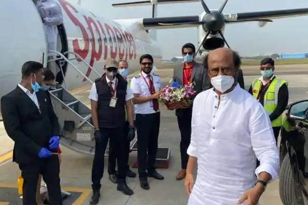 Rajinikanth off to USA