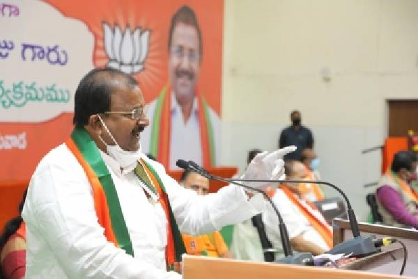 Jagan's welfare pushing Andhra into bankruptcy: BJP