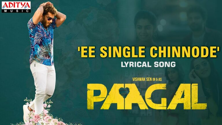 E Single Chinnode from Paagal: Romantic and Melodious Number