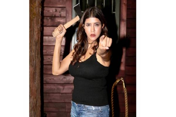 Lakshmi Manchu's reaction when she's reminded vacation is over