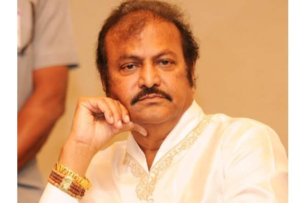 Mohan Babu lodges cyber complaint on trollers