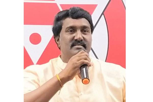 This Jana Sena leader is giving a tough time to YSRCP Minister