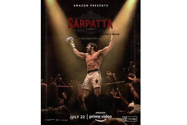 Rana Daggubati launches Telugu trailer of 'Sarpatta Parambarai'
