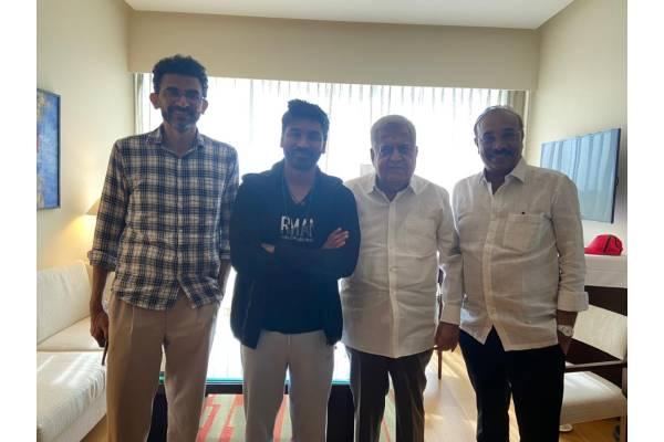 Sekhar Kammula And Producers Meet And Greet Dhanush