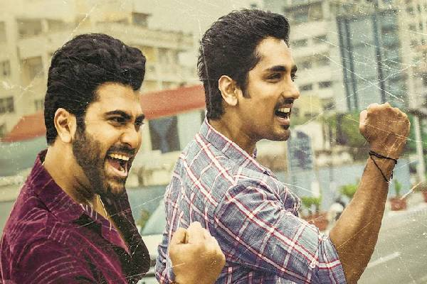 Sharwa and Siddharth are the new besties in the Town