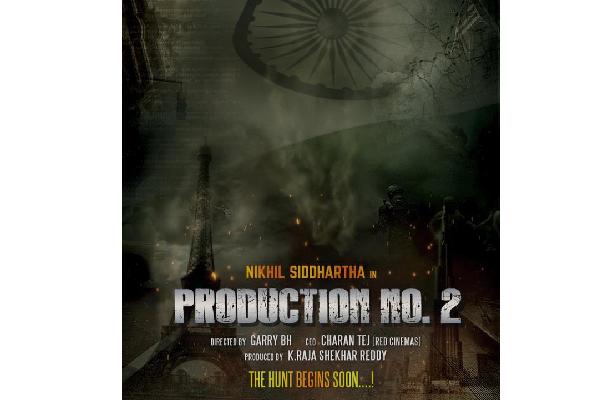 Editor Garry BH To Direct Nikhil In A Spy Thriller