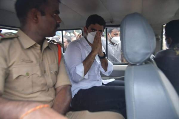 Why are TDP cadres happy at Lokesh's arrest?