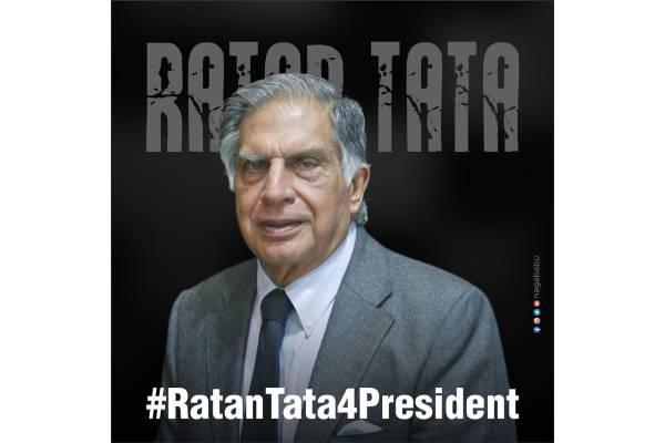 Make Ratan Tata as President of India, Nagababu urges