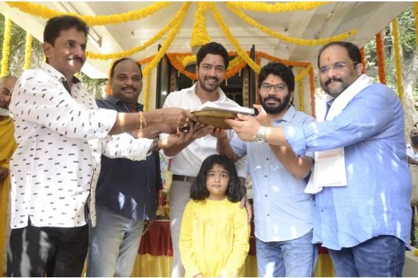 Allari Naresh begins Sabhaku Namaskaram