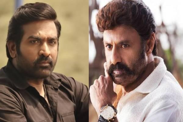 Buzz: Vijay Sethupathi to lock horns with Balayya?