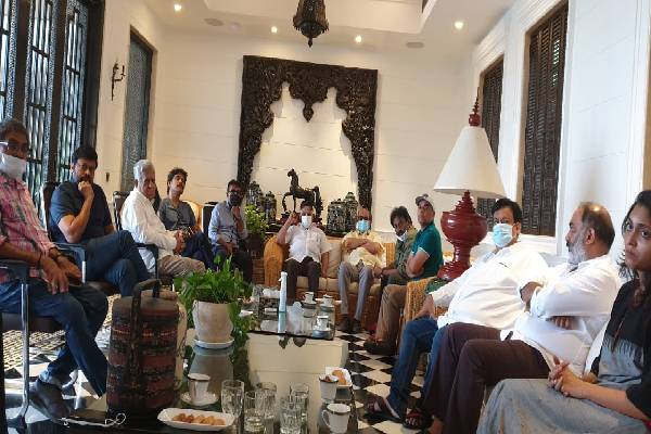 Megastar chairs a Crucial Tollywood Meeting