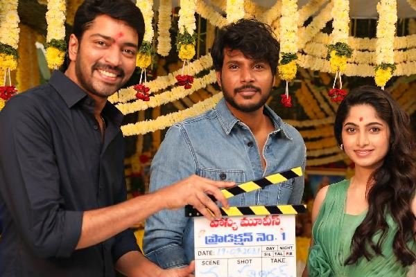 Mahurat clap for VI Anand's next film starring Sundeep Kishan