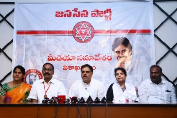 Pawan Kalyan's party to step up agitation against Vizag Steel Plant privatisation