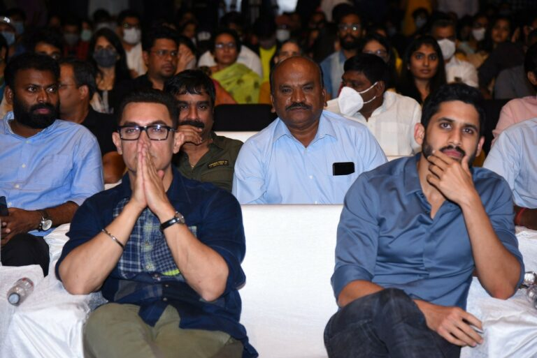 Came all the way to Hyderabad for Chaitanya: Aamir Khan