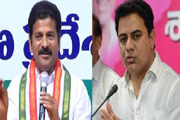 """KTR and Revanth's """"Twitter war"""" continues!"""