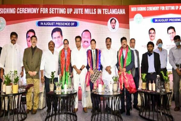 Telangana attracts Rs 887 crore investment in jute sector